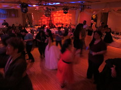 Nya Jimenez Quinceañera dance floor at Quinceañera party (RYANISLAND) Tags: birthday family girls girl 14 15 birthdayparty spanish espanol latin latino hispanic latina 2014 quinceañera