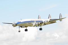 -`ღ´- Queen Super Connie-`ღ´- (Huygens! aka GSatiFan) Tags: show plane force display swiss air 14 super years 100 connie lockheed constellation flug payern air14