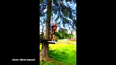 Extreme games (Daniel Kulinski) Tags: park old trees baby mountains green nature girl sport rock forest fun high europe phone image hiking daniel 4 extreme creative platform picture cellphone cell samsung poland games rope line note climbing alpine galaxy imaging years 1977 natasha rockclimbing tatra s5 preschooler cellphonesamsung note2 natasza kulinski daniel1977 samsungimaging samsunggalaxy samsunggalaxynote danielkulinski