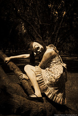Untitled (megallypuff) Tags: halloween dark scary blood killing orchard creepy masks killer axe murder bloody twisted weapons murderer creepyclown axemurderer creepydolls serialkillers clownmask halloweenmasks lolitadress creepymasks megantedrowphotography