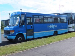Masons AIG2912 Pride Park (Guy Arab UF) Tags: park bus buses mercedes benz coach derbyshire pride independent masons 1998 derby glovers o814 aig2912