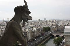 Notre Dame - Paris (gasendi) Tags: paris france notredame francia gargola eos450d gasendi
