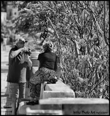 STREET (MikePhotoArt) Tags: street bw woman canon still natura nostalgia turismo nero salento bianconero lecce retr leuca blackewhite canon60d estremit castrignanodelcapo bizzantini mikephotoart
