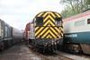 09012 BARROW HILL 140511 (David Beardmore) Tags: br britishrail dieselengine britishrailways englishelectric diesellocomotive dieselelectric barrowhill class09 dieselshunter shuntinglocomotive 09012 d4100