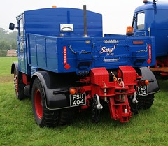 '5'  FSU 404  1953  SCAMMELL 20LA  ' HEAVY  HAULER '  DM Gee  of  WAKEFIELD (Mr Sandtoft.) Tags: wet very rally july steam 19th 2014 a at ackworth