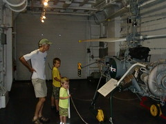 CIMG8055 (hapersmion) Tags: museum sam charlotte yorktown granddaddy homeschool bam 2014 gyrocopter beachtrip2014