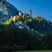 Schloss Neuschwanstein im Morgenlicht