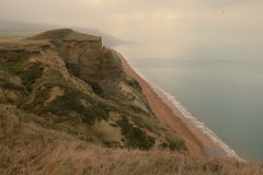 Cliffs at Chale (Peter J Dean) Tags: sea beach view cliffs ventnor isleofwight chale canonpowershots100