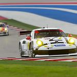 Closeup of the No_ 912 Porsche North America Porsche 911 RSR