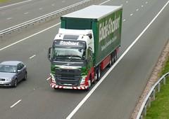 H4990 - KM63 ZZF (Cammies Transport Photography) Tags: truck volvo grace lorry eddie fh flyover calais esl m74 lockerbie stobart h4990 km63zzf