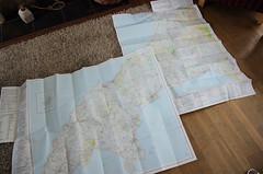 The Lie Of The Land (Mike Serigrapher) Tags: map explorer peninsula survey 253 ordnance 254 llŷn