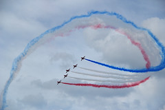The Red Arrows, Farnborough Airshow (Jenny.Lawrence) Tags: