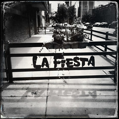 { La Fiesta } (Web-Betty) Tags: colorado unitedstates denver fivepoints bnw lafiesta johnslens hipstamatic dtypeplatefilm triplecrownflash