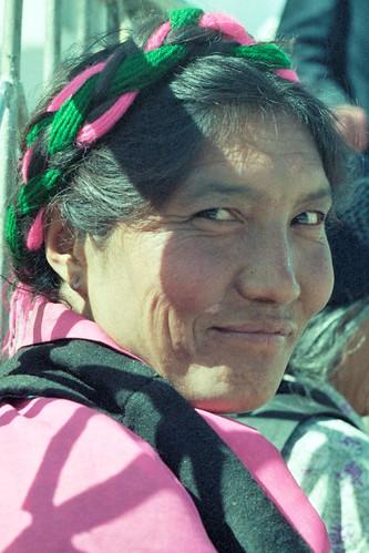 Woman in Barkhor (Lhasa, Tibet 1993)