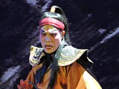 /Cantonese Opera - /Xiang Yu DSCN3999 (Petr Novk ()) Tags: china portrait art asia theater theatre performance actor asie  performer chineseopera guangxi liuzhou   cantoneseopera       xiangyu na