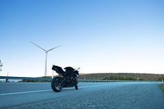 West Virginia Trip - Fuji X-E2 (Chris Juliano) Tags: sunset west rock sunrise virginia rocks fuji bears group adventure wv triumph motorcycle dolly daytona rider cog f28 concourse sods elkins 14mm senca advrider xe2