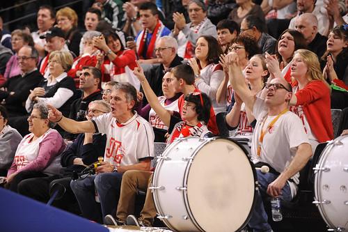 Supporter de la JL Bourg Basket - ©JLBourgBasket