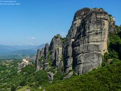 Majestic Meteora (Shutterbytes by Michele Hamilton) Tags: landscapes scenery greece majestic meteora