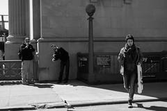 XE1-03-21-14-282 (a.cadore) Tags: nyc newyorkcity blackandwhite bw zeiss candid busstop fujifilm uws carlzeiss xe1 zeissbiogon35mmf2 biogont235 fujifilmxe1 35mm525mmeqiv