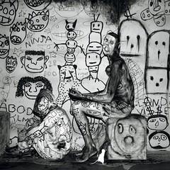 Lot 4: Roger Ballen (sfcamerawork) Tags: november david jeff john paul photography gallery 1st auction nolan mona smith william vivian pace judy roger kuhn wegman goodman ballen sfcamerawork maier dater abner benefitauction fraenkel schiek sfcwauction