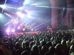 Sleeping With Sirens Live (ellena.marazzi.) Tags: show lighting uk england london logo drums lights concert tour singing audience bass guitar live stage gig crowd band o2 singer microphone bassist drummer fans sws academy guitarist brixton brixtonacademy o2academy sleepingwithsirens