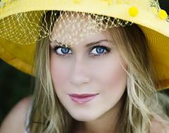 IMG_39ee69 1 (TJ Boarman) Tags: portrait woman flower beauty sunshine yellow lady outdoor blonde canondslr strobist canon580 canon7d sigma85f14