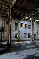 just one thing everybody wants (Super G) Tags: nikon152 abaondoned windows wall columns brick water light neworleans
