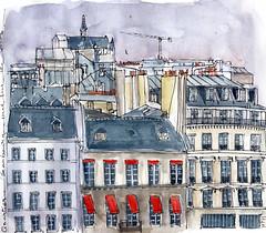 Quartier Beaubourg Paris 4ème (martinesan) Tags: