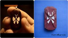 The Illusionist Locket (alexmur474) Tags: origami butterfly locket