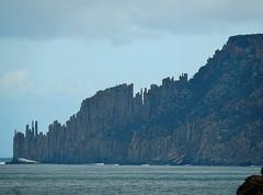 Mordor (mikecogh) Tags: tasmania portarthur coast jagged foreboding rocky nature