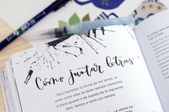 Letras Bonitas, Three Feelings (Wasel Wasel Crafts) Tags: caligrafía lettering letras bonitas three feelings books crafts calligraphy tabletop