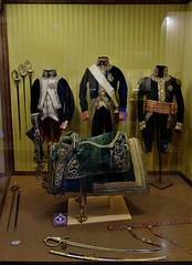 0672-20160521_Salon de Provence-Bouches du Rhone-France-Chateau de l'Emperi-Military Museum-display French army dress through time-11 of 17 (Nick Kaye) Tags: salondeprovence bouchesdurhone france europe city castle house museum
