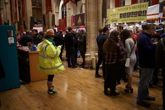 Beer Festival dress codes vary (Rockallpub) Tags: beer festival nwaf camra norwich st andrews hall 1600