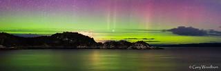Northern Colours - Aurora Borealis, Loch Fyne, Argyll