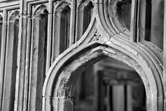 St. David's Cathedral (@AnnerleyJphotos) Tags: arch archway blackandwhite bnw britain cathedral close closeup cymru david gb mono pembrokeshire saint sirbenfro stdavids uk up wales welsh