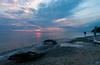 lake michigan sunset (rileyloew) Tags: pentax k7 1645
