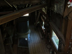 Grist mill interior (jamica1) Tags: ontario canada mill st historic artifact catharines morningstar decew