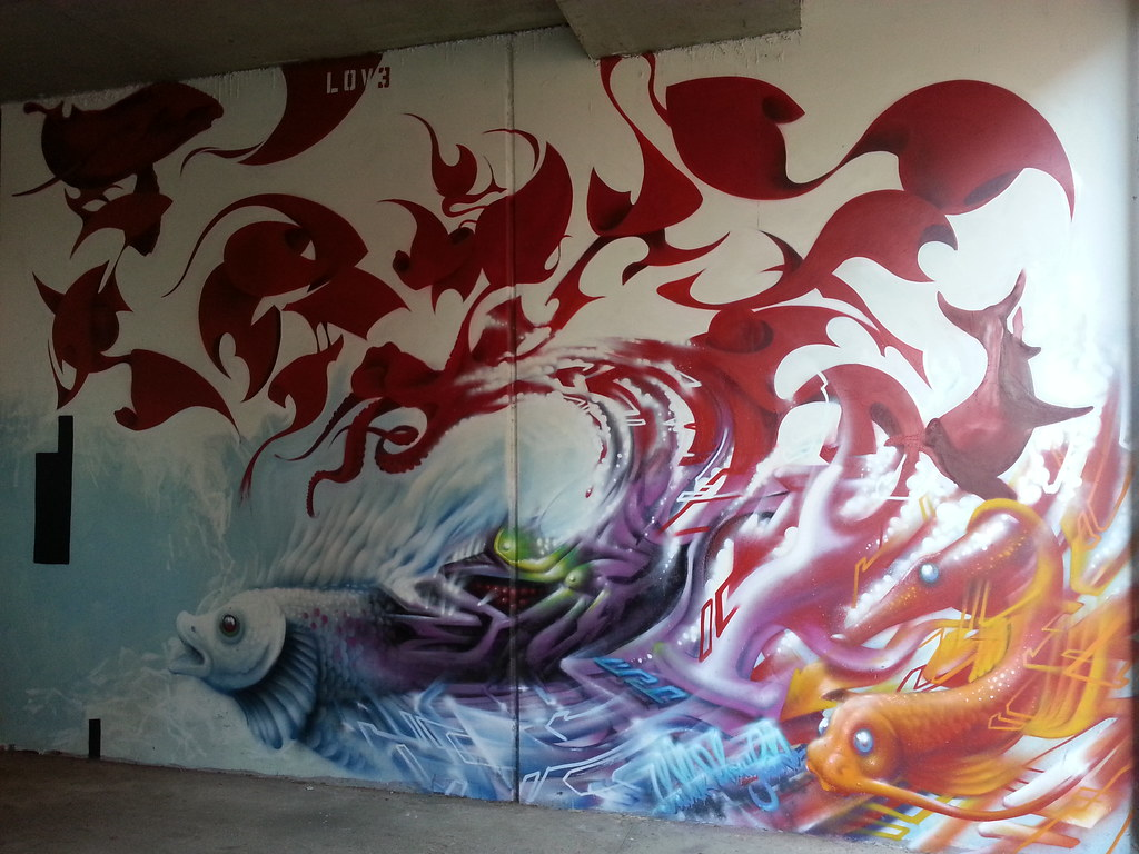 The world 39 s best photos of koi and streetart flickr hive for Koi farm melbourne