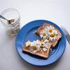 scrumdiddlyumptious.... 158/365 (Máire Ó) Tags: flowers food breakfast toast jam day158 oxeyedaisies 365project