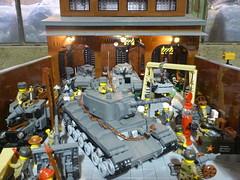 World War Brick 2014  098 (TooMuchDew) Tags: lego wwb brickarms dansiskind brickmania worldwarbrick brickmaniatoyworks wwwworldwarbrickcom worldwarbrick2014