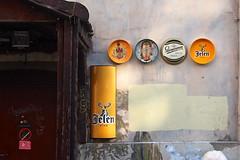 Details. Belgrade (Sobanland) Tags: street streets bar europa strada colours postcard serbia east memory whitecity gran balkans belgrade beograd metropolitan est citta balkan metropolitano belgrado serbian balcani birre eastereurope serbo exyu  soban ballkan berrs sebija exyugo sebijan sobanland blred