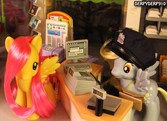 Post Office Promo2 (DerpyDerp910) Tags: toy toys is g4 friendship little magic pony fim playmobil mlp hooves derpy my fluttershy mlpfim derpyderp910