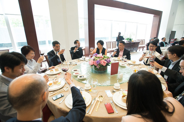 議員與行政長官、行政會議成員及政府高級官員舉行午宴 Lunch with the Chief Executive, Executive Council Members and senior Government officials (2014.06.13)
