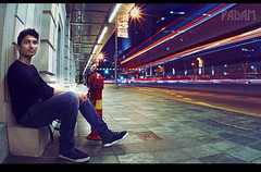 the sidewalk (R designs) Tags: wallpaper beautiful portraits singapore colorful long exposure experimental cityhall sony colourful stylish