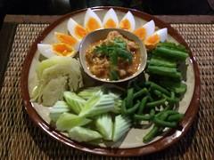 น้ำพริกกุ้งสด เมนูไทยๆแต่อร่อยเด็ด