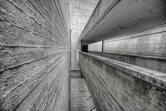 Béton brut (FX-1988) Tags: bridge bw white black building concrete israel sigma le and minimalism ישראל 1020 hdr corbusier brutalist ono casts brut béton 10mm kiron kiryat קרית אונו קיראון שיכון ציבורי קִרְיַת