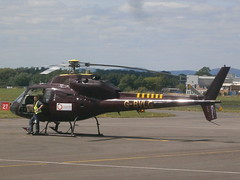 G-BVLG Ecureuil AS335 Helicopter (Aircaft @ Gloucestershire Airport By James) Tags: james airport gloucestershire helicopter lloyds ecureuil as355 egbj gbvlg