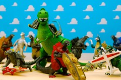 favorite kids tile fun toy actionfigure photo funny colorful play dinosaur image very toystory action good great picture best godzilla explore cc figure laugh planes scifi excellent monsters greatest playtime babysitting char multicolored rex lizards havingfun instudio jdhancock