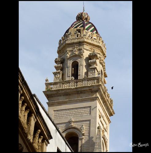 italia puglia barocco lecce piazzaduomo campanili... (Photo: R come Rit@ on Flickr)