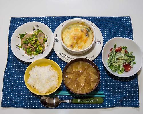 2014年6月26日の晩ご飯